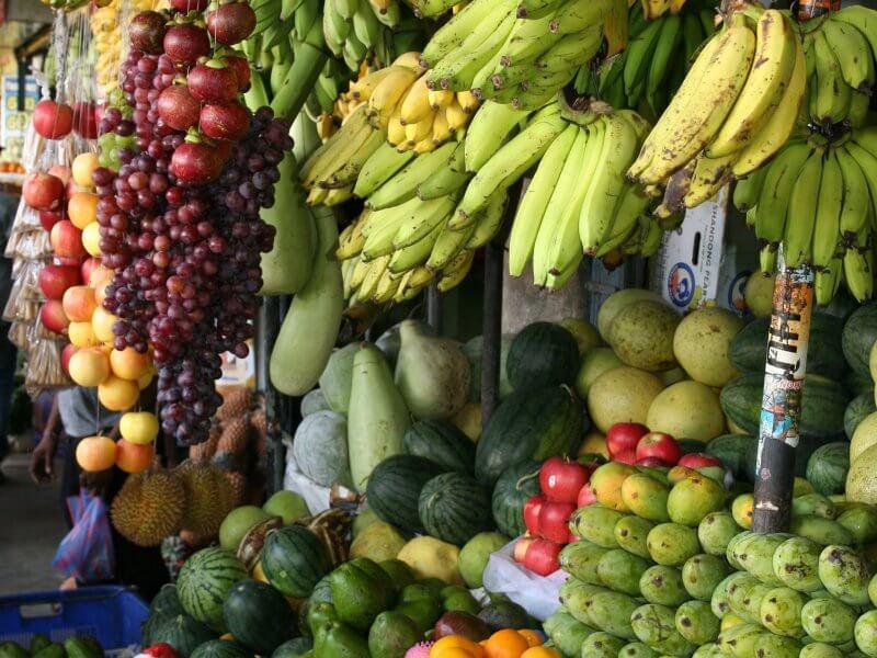 Las 7 frutas que más engordan. ¿Cual es la fruta con más azucar?